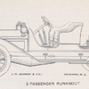 J. M. Quinby & Co.; 3 passenger Runabout.