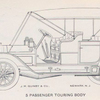 J. M. Quinby & Co.; 5 passenger Touring car body.