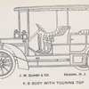 J. M. Quinby & Co.; K. B. body with Touring car top.