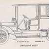 J. M. Quinby & Co.; Limousine body.