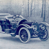 "[The Royal Tourist Model ""M"" Car (front view).]"