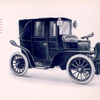 Panhard & Levassor Landaulet with motor under the seat on shaft or chain - driven chassis.