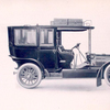Panhard & Levassor Limousine on chain - driven chassis for general use.