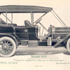 The Speedwell Model 9-D; Touring car equipped for either five or seven passengers; Price, $ 2,500.00.