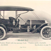 The Speedwell Model 9-C; Roadster model with four passenger body; Tonneau quickly detachable; Price, $ 2,500.00.