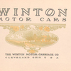 Winton Motor cars; The Winton Motor Carriage Co., Cleveland, Ohio, U.S.A. [Title page].