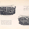 Views of the motor of the Winton Six-teen-six.