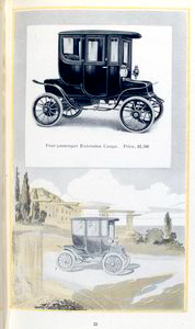 Four-passenger extension Coupe... Digital ID: 1163558. New York Public Library