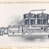 The motor - pump side.