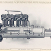 The motor - left side.