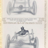 Showing the Stevens-Duryea engine fitted with false feet on Model R, [Stevens-Duryea] original 4-cylinder car; Showing the distortion inevitable in more than a three point support on Model R, [Stevens-Duryea] original 4 cylinder car.