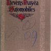 Stevens-Duryea automobiles [Front cover].