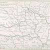 Route of the 2650-mile public demonstartion of the kerosene as fuel; The 1909 Glidden tour.