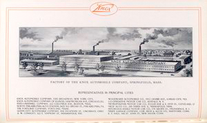 Factory of the Knox Automobile Company, Springfield, Mass.
