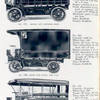 Types of bodies fitted to Knox D-6 trucks; No. 117, Model D-6 Express body; No. 199, Knox D-6 panel top van; No. 118, D-6 transpotaion car.
