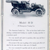 """Maxwell"" Model H D; 20 horsepower Touring car."