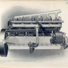 Six-cylinder motor - 45 horse power (right side).