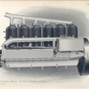 Six-cylinder motor - 45 horse power (left side).