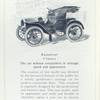 Baker electric vehicles; Runabout; S chassis.