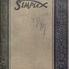 Simplex made in New York City [Front cover].