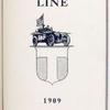 E.R. Thomas Motor Company; The Thomas line, 1909 [Title page].