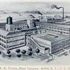 E.R. Thomas Motor Company, Buffalo, N.Y., U.S.A.; [View of the factory].