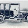 Model L Thomas Flyer; 6-70 Limousine; Price $ 7500 (f.o.b. Buffalo).