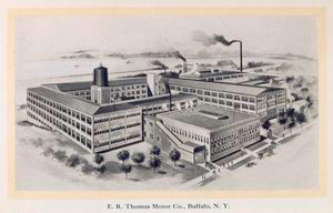 E.R. Thomas Motor Co., Buffalo, N.Y.; [View of the factory].