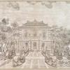 Fangwaiguan zhengmian, main façade of Belvedere. [8]