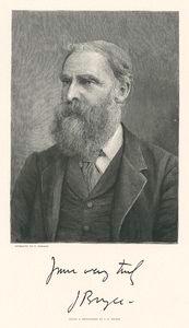 [James Bryce, M.P.] After a photograph by J. D. Hilton.