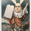 The Democratic Moses and his selfmade commandments. [William Jennings Bryan]