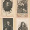 John Bunyan [three portraits];  An allegorical representation of Mr. John Bunyan.