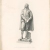John Bunyan. Engraved by H. Balding from the statue by J. E. Boehm.