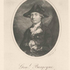 Gen. Burgoyne, Governor of New York, North America.