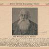 Der Ornitholog J.L. Cabanis. (Meyer's Historisch-Geographischer Kalender, 1916).