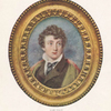 Lord Byron, from the miniature given by him to Leigh Hunt and now owned by Mr. J. Pierpont Morgan.