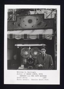 William S. Burroughs Digital ID: 116489. New York Public Library