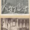 The murder of Cæsar [2 portraits].