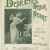 Dear eyes, dear heart
