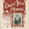 Don't tell Maria