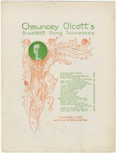 The old fashioned mother / by Chauncey Olcott.