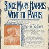 Since Mary Harris went to Paris