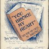 The story of a broken heart