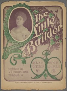 The little builder / words by F. Gardner ; music by G.J. Couchois.