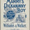 Mammy's pickanninny boy