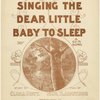 Singing the dear little baby to sleep