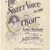 The sweet voice in the choir