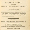 The architect and builder's miscellany, or pocket library, [Title page]