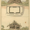 [Primitive huts - Ground Plans 1 & 2.]