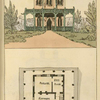 Ground plan: Kitchen, parlour and bed room.